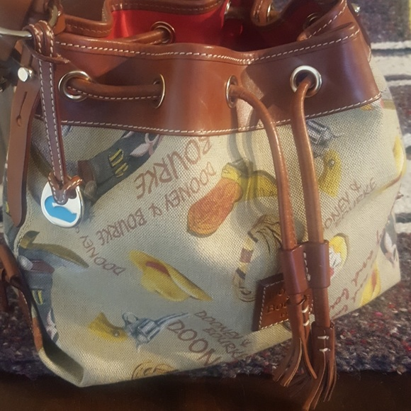 Dooney & Bourke Handbags - Dooney & Bourke Western Drawstring Handbag